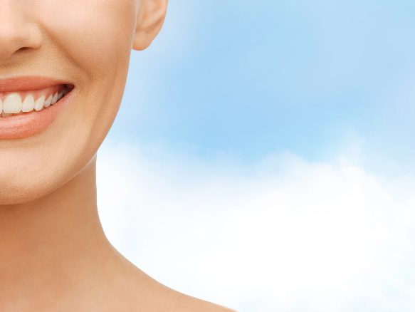 Close-Up of A Woman Smiling | Bayport Dentist